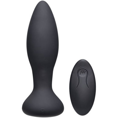 Rimmer Experienced Vibrating And Rotating Butt Plug - Black-A-Play