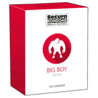 Big Boy Condoms - 100 Pieces-Secura Kondome