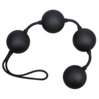 Black love string with 4 balls-You2Toys