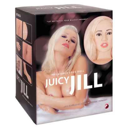 Juicy Jill Blonde Inflatable Doll-You2Toys