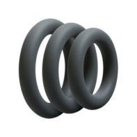 3 C-Ring Set - Thick - Slate-OptiMALE