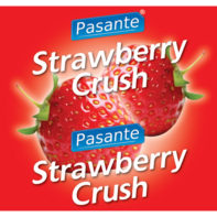 Pasante Strawberry Flavour Condome 144pcs-Pasante