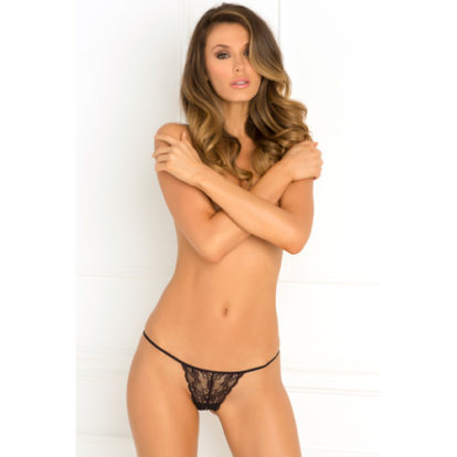 Got Your Back Crotchless String-Rene Rofe