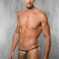Camouflage Men's Thong-Doreanse