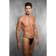 Men's Thong - Black-Doreanse