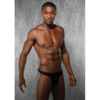 Mens G-string - Black-Doreanse