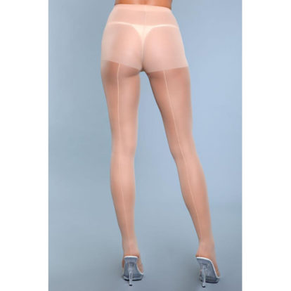 Walk Right Out Pantyhose With Backseam - Nude-Be Wicked