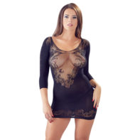 Net Dress With 1/2 Sleeves-Mandy mystery Line