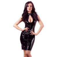 Vinyl Dress Lacing-Black Level