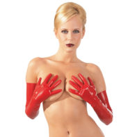 Latex Gloves red-The Latex Collection