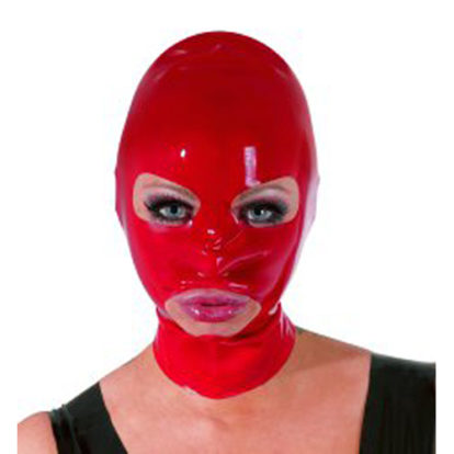 Latex Mask red-The Latex Collection