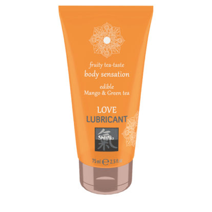 Love Lubricant edible - Mango & Green Tea-Shiatsu