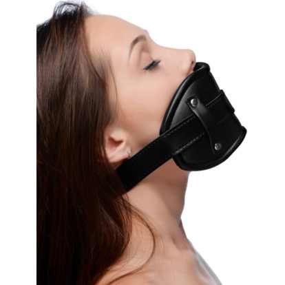 Cock Head Silicone Mouth Gag-Strict