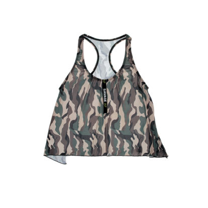 Camouflage Racerback Top-Vibes