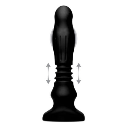 Thunderplug Thrusting & Vibrating Anal Vibrator-Thunder Plugs