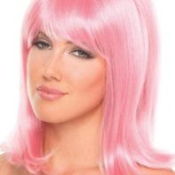 Doll Wig - Light Pink-Be Wicked Wigs
