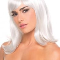 Doll Wig - White-Be Wicked Wigs