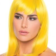 Doll Wig - Yellow-Be Wicked Wigs