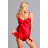 Martina Romper - Red-Be Wicked