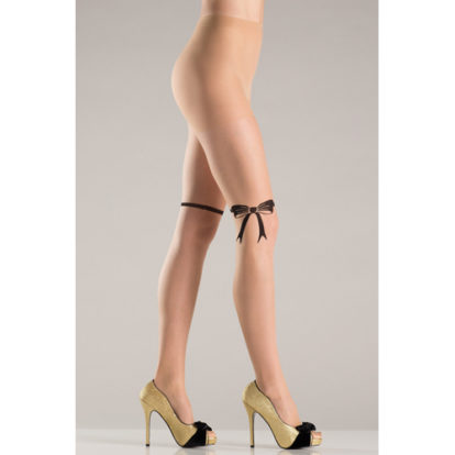 Pantyhose With Ribbon And Bow Design-Be Wicked