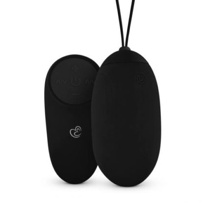 Vibrating Egg With Remote Control - Black-Easytoys Mini Vibe Collection