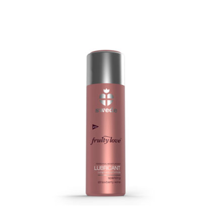 Sparkling Strawberry Wine Water-Based Lubricant - 50ml-Swede
