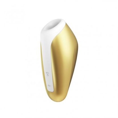 Satisfyer Love Breeze Sucking Vibrator - Yellow-Satisfyer