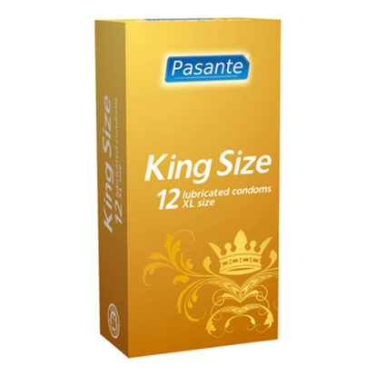 Pasante King Size condoms 12 pcs-Pasante