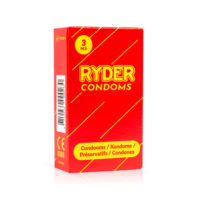 Ryder Condoms - 3 Pcs.-Ryder