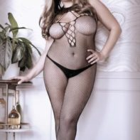 Adore You Catsuit With Halterneck - Curvy-Sheer Fantasy