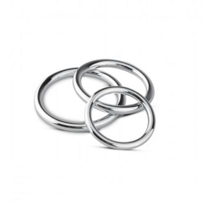 Cock/Ball Ring & Glans Ring Set-Sinner Gear Unbendable
