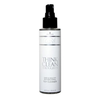 Think Clean Thoughts Anti-bacterial Toycleaner-Sensuva