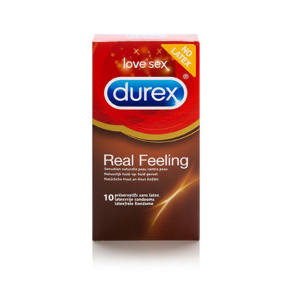Durex Real Feeling - 10 Pieces-Durex