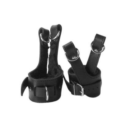 Strict Leather Fleece Lined Suspension Cuffs-Strict Leather