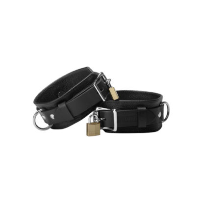 Strict Leather Deluxe Locking Cuffs-Strict Leather